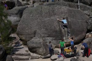 Bouldering at L'Elephant
