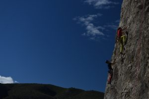 Some nice slightly off vertical climbs at Chulilla.
