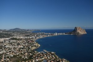The amazing Penon D'Ifach from Toix
