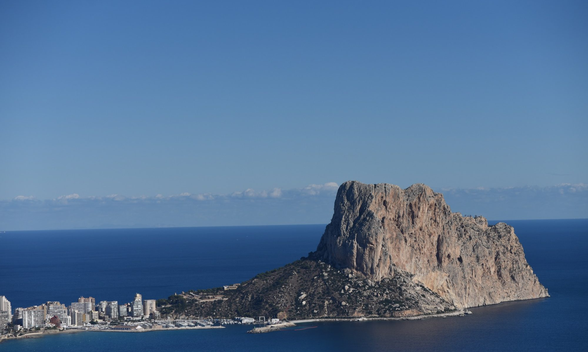 The Amazing Penon D'Ifach towering over Calpe.