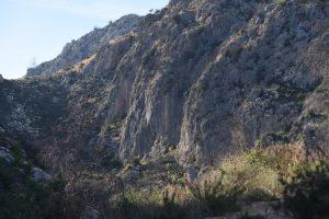 The Main Crag at Pego.