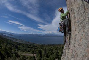 A VS Climb up Cerro Otto above Bariloche.